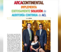 Arca Continental Implementa Exitósamente Solución de Auditoría Contínua ACL